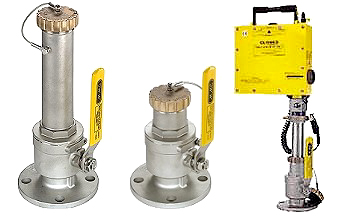 Vapor Control Valves for Gauging and Sampling Petroleum and Chemicals
